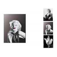 Buy cheap Star Marilyn Monroe 3D Lenticular Flip With 3 Imges Changing Effect / MDF Frame product