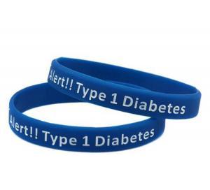 Buy cheap Size 202*12*2mm Custom Promotional Silicon Bracelet,Adjustable Silicon Wristband,Promotion Wrist Band product