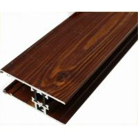 Buy cheap Customized Furniture Aluminium Profiles , Wood Grain Finished T Slot Aluminum Framing product