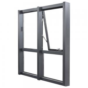 Buy cheap Open Frame Aluminium Curtain Wall, Curtain Glass Window Anodizing Black Frame product