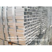 Buy cheap Quality Assured bs1387 Popular Hot Dip Galvanized Square Steel Tubes/Pipes product