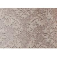 Quality Colorful Floral Non woven European Style Wallpaper room design Wet embossed for sale