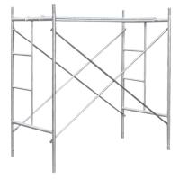 China Walk Through H Frame Scaffolding System HDG / Pre - Galvanized / Painted on sale