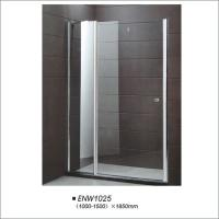 Buy cheap Silver Frame Shower Enclosure Pivot Door product