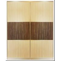 Buy cheap Aluminum Frame Sliding Panel Closet Door For Bedroom, Customized Plate Indoor from wholesalers