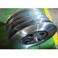 Buy cheap High Precision Lebus Grooved Drum / Crane Drum Weldment Type DNV Certification product
