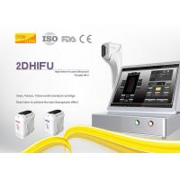 Beauty Salon Hifu Body Slimming Machine Elastin Fiber Contraction 4MHz Frequency