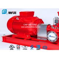 Buy cheap 1250GPM@12bar Electric Motor Driven Fire Pump With Air / Water Cooling Method product