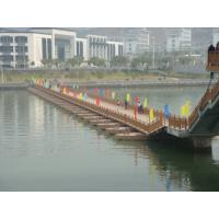 Buy cheap Temporary Floating Pontoon Ribbon Bridge For Medium and Large Rivers product