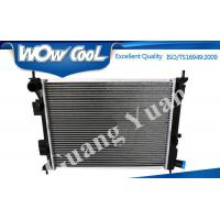 Buy cheap 25310 0U000 Hyundai Verna Radiator MT 16mm Core Thickness With Heater Tank Nissens 666213 product