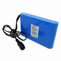 Buy cheap 12V/3Ah Battery Pack with Protection Circuit and Connector product