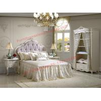Buy cheap Exquisite Design and Workmanship for Lovely Girls Bedroom Furniture set in White Color product