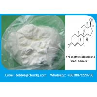 Buy cheap 17α-methyltestosterone Anabolic Steroid Powder for Sex Reversal of Tilapia , CAS 65-04-3 product