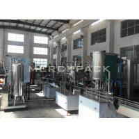 Buy cheap Small Scale Carbonated Drinks Filling Machine / Carbonated Soft Drinks Bottling Plant product