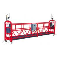 Buy cheap High efficiency ZLP Rope Suspended Platform / Cradle 500kg With Caster for cableway installation product