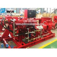 Buy cheap UL / FM Certification NFPA 20 Standard Diesel Engine End Suction Fire Pump Set product