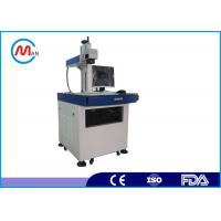 Buy cheap High Speed Desktop Fiber Laser Marking Machine For Cattle Ear Tags Plastic product