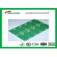 Buy cheap Tamura Matte Green Single Sided PCB   1L FR4 1.6mm Immersion Gold PCB product