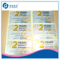 Buy cheap Glossy Self Adhesive Plastic Labels product