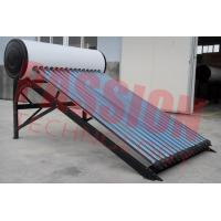 Buy cheap Professional Heat Pipe Solar Water Heater With 20 Tubes Aluminum Reflector Frame product
