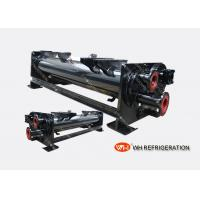 Buy cheap 21KW Dry Shell And Tube Type Evaporator , U Tube Heat Exchanger Carbon Steel product