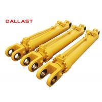 Buy cheap Truck Heavy Duty Hydraulic Cylinder Double Acting Chrome Engineering product