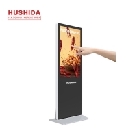 China 55 inch floor stand digital signage totem lcd advertising display screen on sale