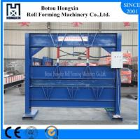 Buy cheap 2.5m Heavy Roofing Sheet Bending Machine , Cr12 Cutting Blade Roof Bending Machine product