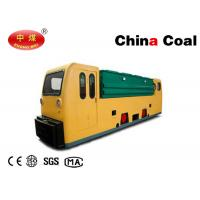 Buy cheap Explosion Proof 12 MTs Double Cabs Battery Locomotive for Underground Coal Mines product