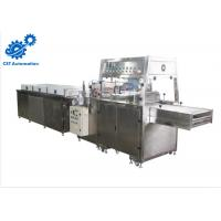 Buy cheap Button Control Chocolate Production Machines 400mm Mesh Width High Performance product