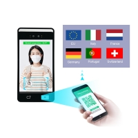 Buy cheap Face Recognition QR Code Reader Access Control Reader With Wiegand TCP IP Relay product