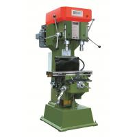 China Vertical Double Spindles Hand Radial Drilling And Tapping Machine With PLC Programmable Controller on sale