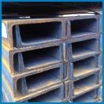Buy cheap Prefabricated Steel U Shaped Steel Channel, Sturcture U Channel Steel, JIS standard, channel steel, roof building product