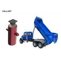 Buy cheap 3 4 5 Stage Telescopic Hydraulic Ram Cylinder Chrome Plated Coatings Steel Body product