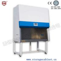 China 60 Db Class i Safety Chemistry Fume Vertical Laminar Flow Hood With Air Velocity 6 Levels on sale