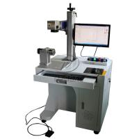 Buy cheap Stainless Steel Cylinder Fiber Laser Marking Machine with Rotary Axis AC110V product