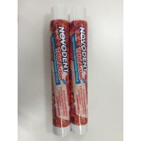 Buy cheap Round Laminated Aluminum Barrier Toothpaste Tube With Fez Cap product