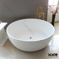Buy cheap Hot Selling White Acrylic Solid Surface Bathtub from wholesalers