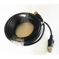 Buy cheap 6 Poles M12 Screw Lock Driving Reverse Camera Cable PVC Insulation product