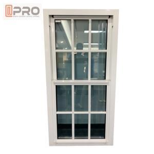 Buy cheap Customized Soundproof Single Hung Window  / Villa Double Glazed Top Hung Window product