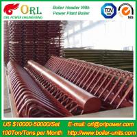 Buy cheap Industry Electrical Water Boiler Power CFB Boiler Header 500MW Rate Factor product
