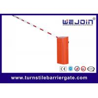China Straight Fold Arm Fence Parking Barrier Gate High Speed For Car Parking Management on sale