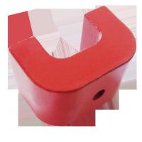Buy cheap Customized Permanent 2 3 5 8 Grade Cast  Alnico U Shape Magnets for Education product