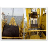 Buy cheap Small Size Tower Crane Winch 6 Ton / 8 Ton With Special Drum Grooving product