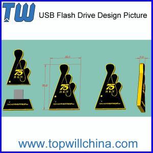 Commande faite sur commande de pouce pour votre marque d'Unique USB PVC Product Company