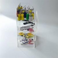 Buy cheap Acrylic Phone Accessory Counter LED Display Stand for Cables product