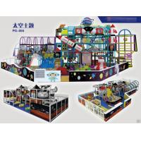 China Indoor soft playground in fantasy colors design  for kids with space theme wholesale