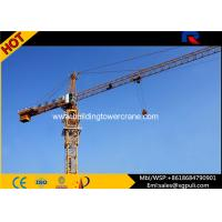 Buy cheap 400m Rope Overhead Construction Building Tower Crane 1.0 Ton Tip Load product