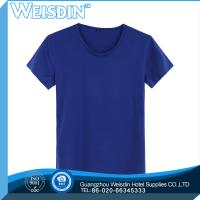 Buy cheap 100 grams hot sale polyester/cotton lovers comfortable and simple fancy T shirt from wholesalers