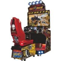 Buy cheap Coin Operated 42 Inches Driving Racing Car Simulator Arcade Game Machine/Dirty Driving Game Machine product